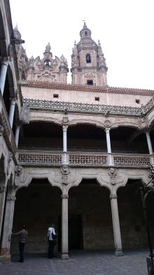 Innenhof Salamanca