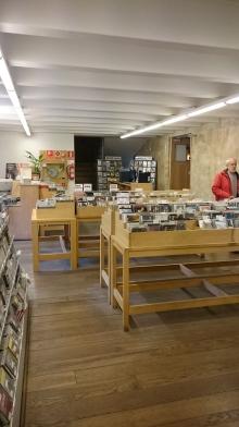 CD-Abteilung der Bibliothek von Salamanca