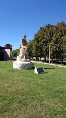 Don Quijote Denkmal auf dem Campusgelände