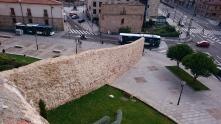 alte Stadtmauer in Salamanca